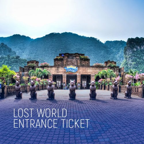 Lost World Entrance Ticket
