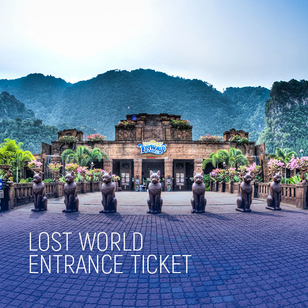 lost world entrance tickets lost world of tambun