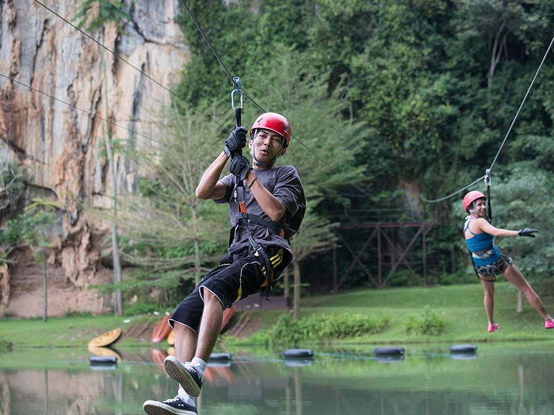 Zip Line - Lost World Adventure Park