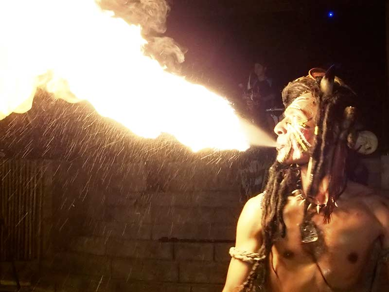 Flaming Percussions - Lost World of Tambun