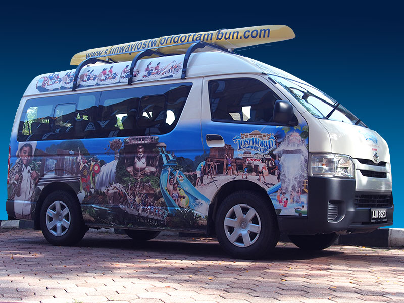 Shuttle Bus - Lost World of Tambun