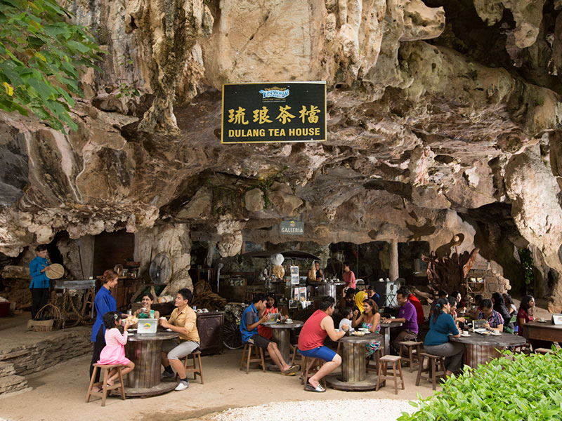 Dulang Tea House - Lost World Tin Valley