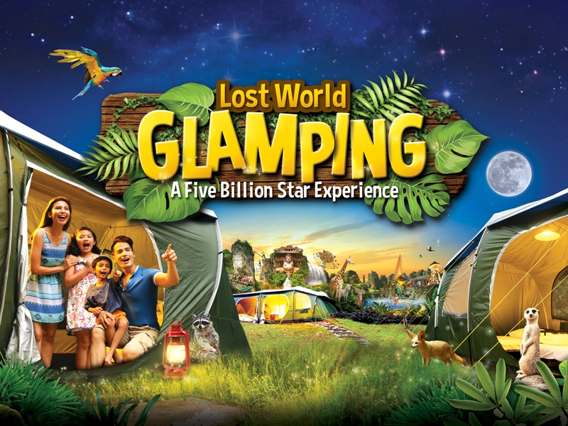 Glamping at Lost World of Tambun - A Five Billion Star Experience