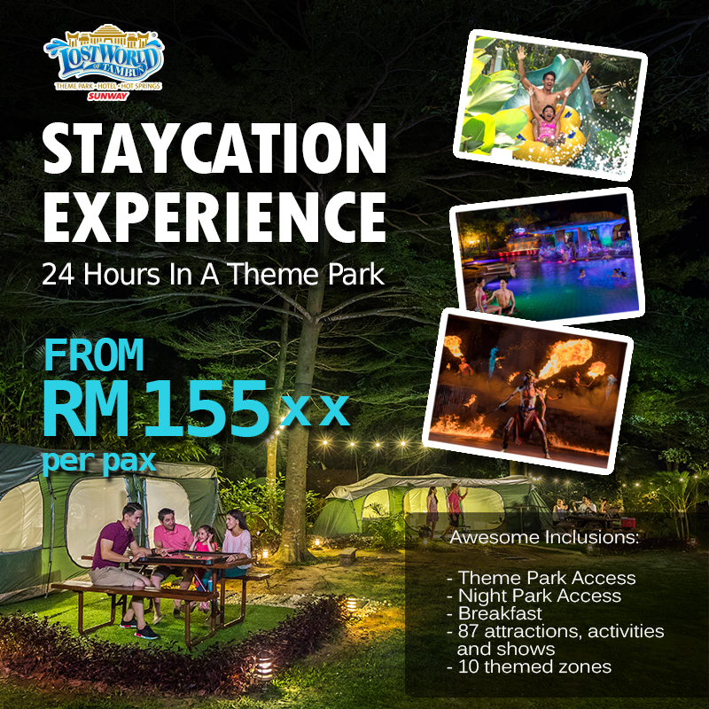 Promotions - Lost World of Tambun Theme Park