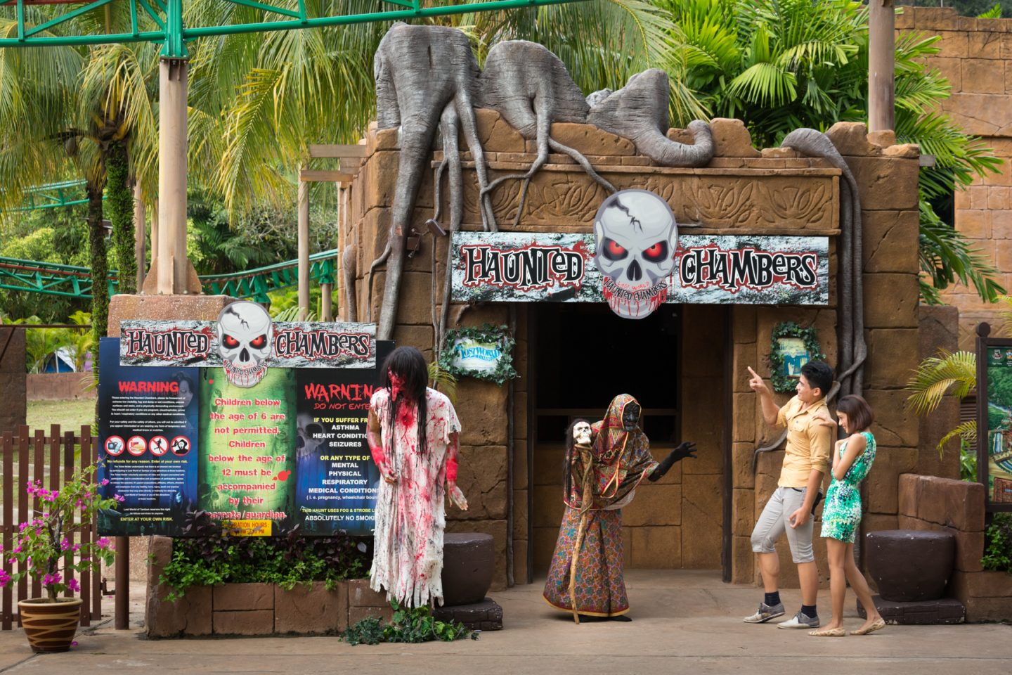 Lost World Haunted Chambers - Lost World of Tambun