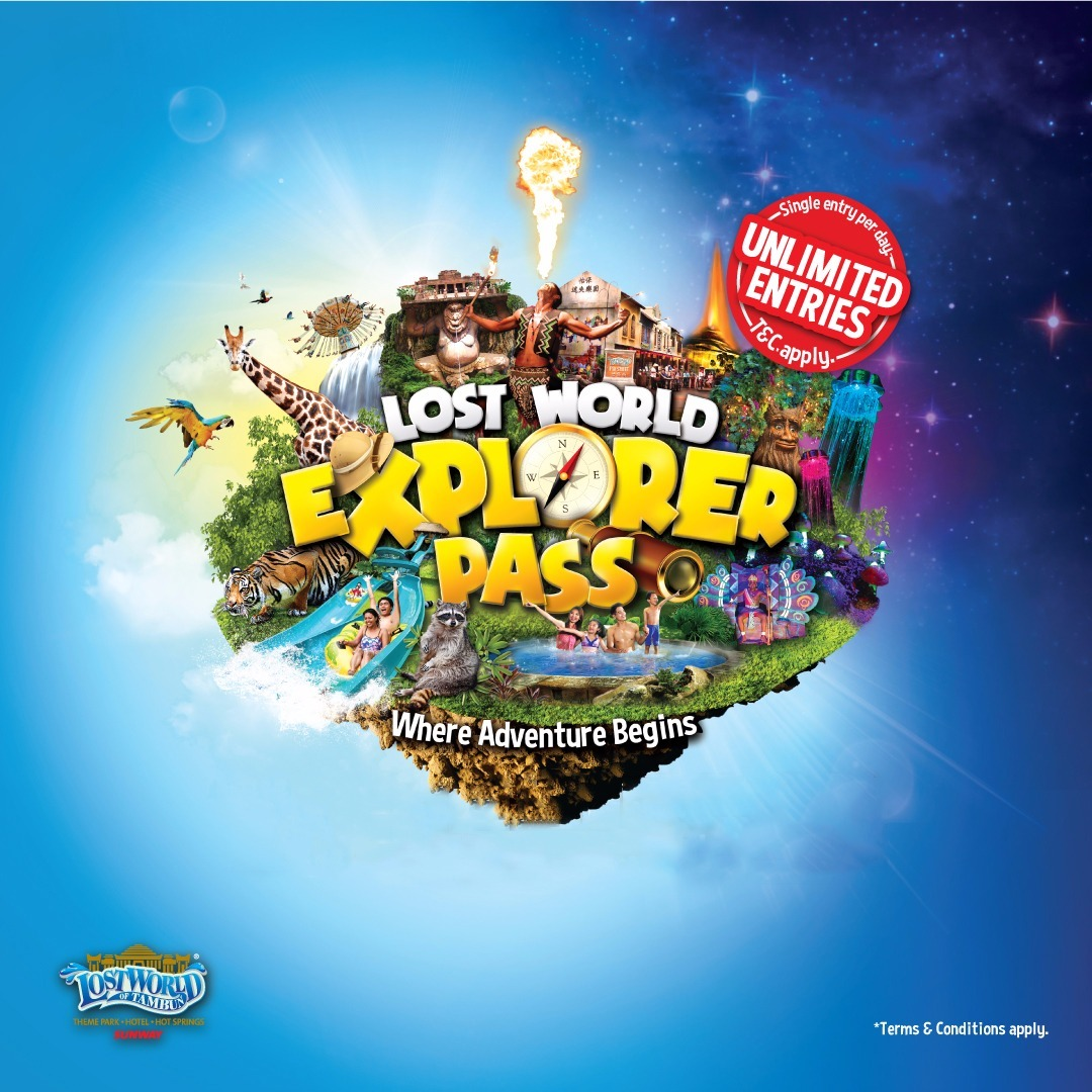 lost world explorer pass lost world of tambun