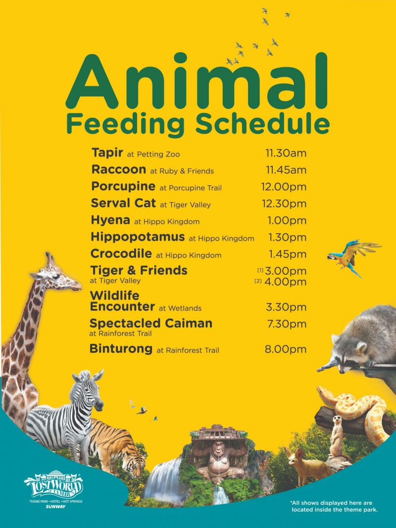 Animal Feeding Show - Sunway Lost World Of Tambun
