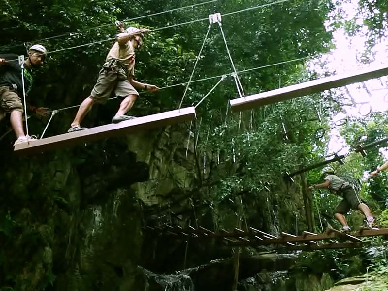 13 High Rope Course - Lost World Adventure Park